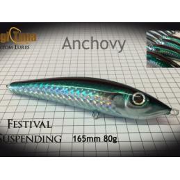 magic tuna suspending anchovy