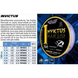 YUKI INVICTUS 1000 METROS