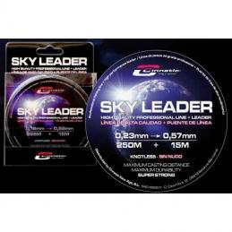 CINNETIC SKY LEADER 250 MTS + 15 MTS TRANSPARENTE.
