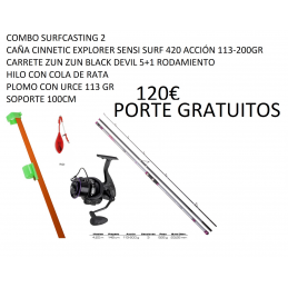 COMBO SURFCASTING 2