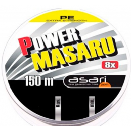 Hilo trenzado power masaru 8x 150 mtrs