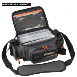 Bolsa Savage Gear System Box Bag S + 3 Lure Boxes - 54775