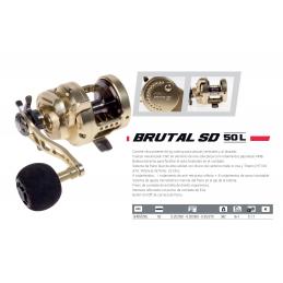 CARRETE HART BRUTAL SD 50 L