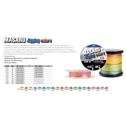 MASARU JIGGING COLORS 2000METROS