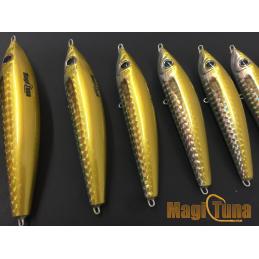 magic tuna suspending holografico dorado